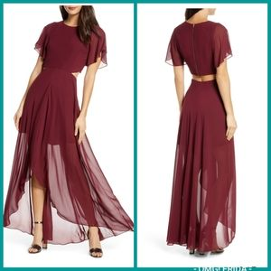 Ali & Jay Cutout Maxi Dress